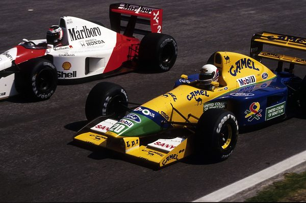 Martin Brundle 1992 Benetton