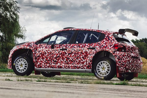 Citroen C3 R5 unveil 1