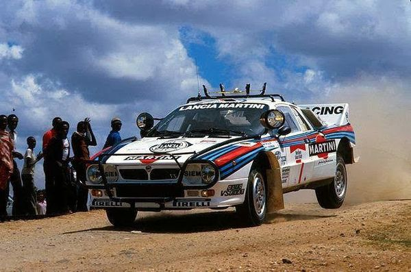 Lancia 037 Rally Safari 1984