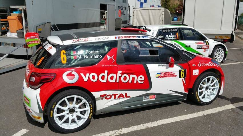 Rally  MADEIRA   2015 CITROEN DS3 R5 FONTES
